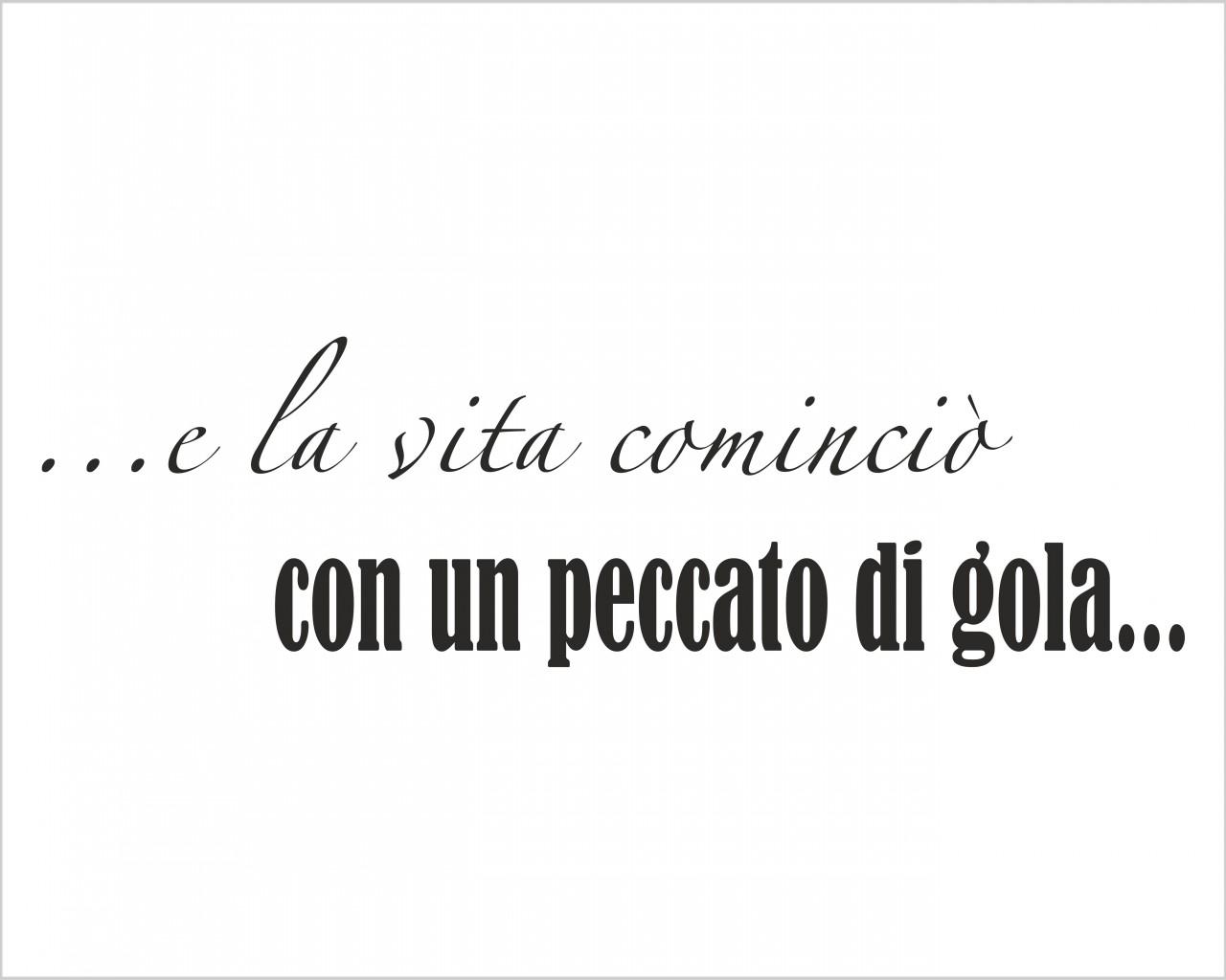 LA VITA COMINCIOu2019u2026 u2013 Frasi, Aforismi, Citazioni u2013 Adesivo ...