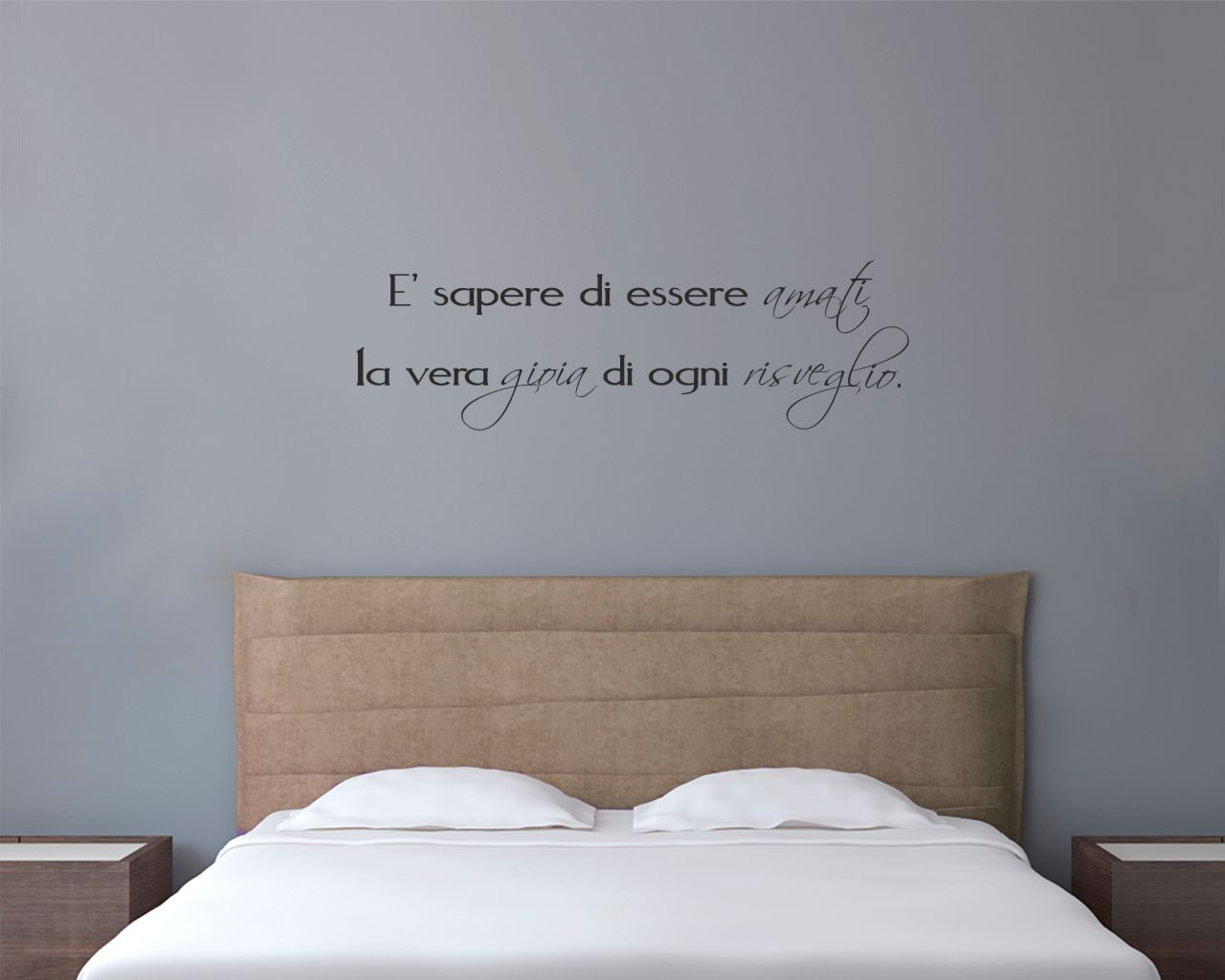 La gioia di ogni risveglio frasi aforismi citazioni - Appendiabiti da camera da letto ...