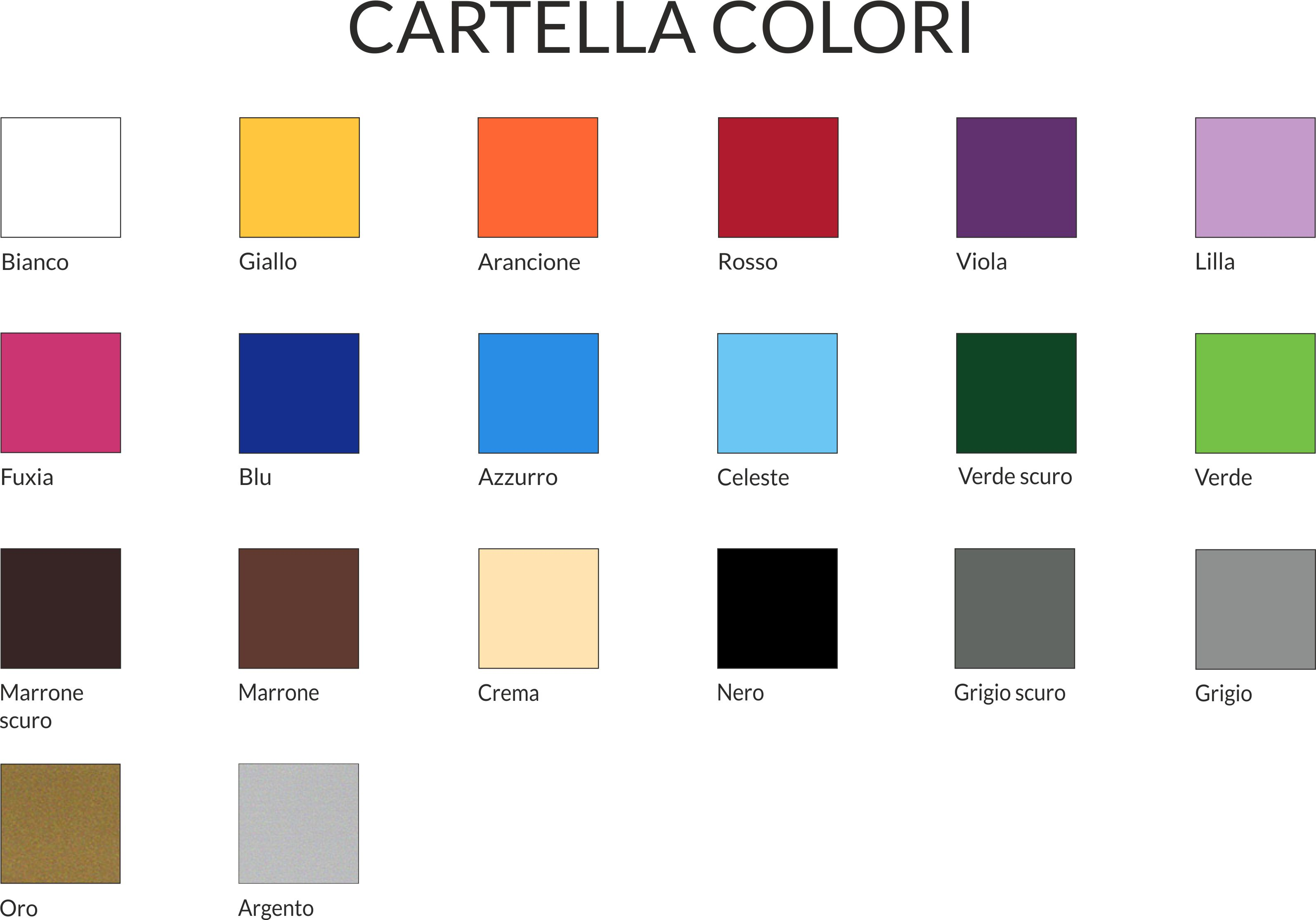 Cartella colori interni decori adesivi murali wall for Cartella colori pittura pareti