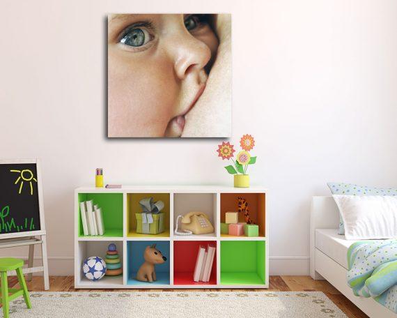 Stampa su tela - purezza della prima infanzia