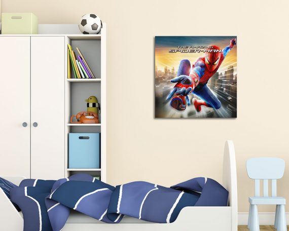 stampa su tela-the amazing spiderman