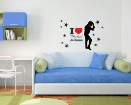 adesivo murale-michael jackson