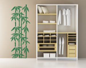 adesivo murale-pianta di bamboo