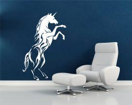 Adesivo murale-magico unicorno
