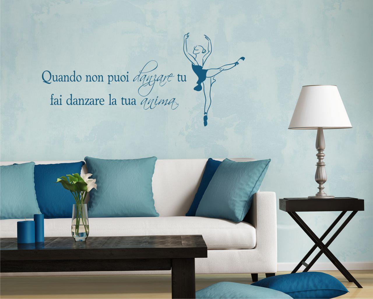 Adesivo murale-anima danzante