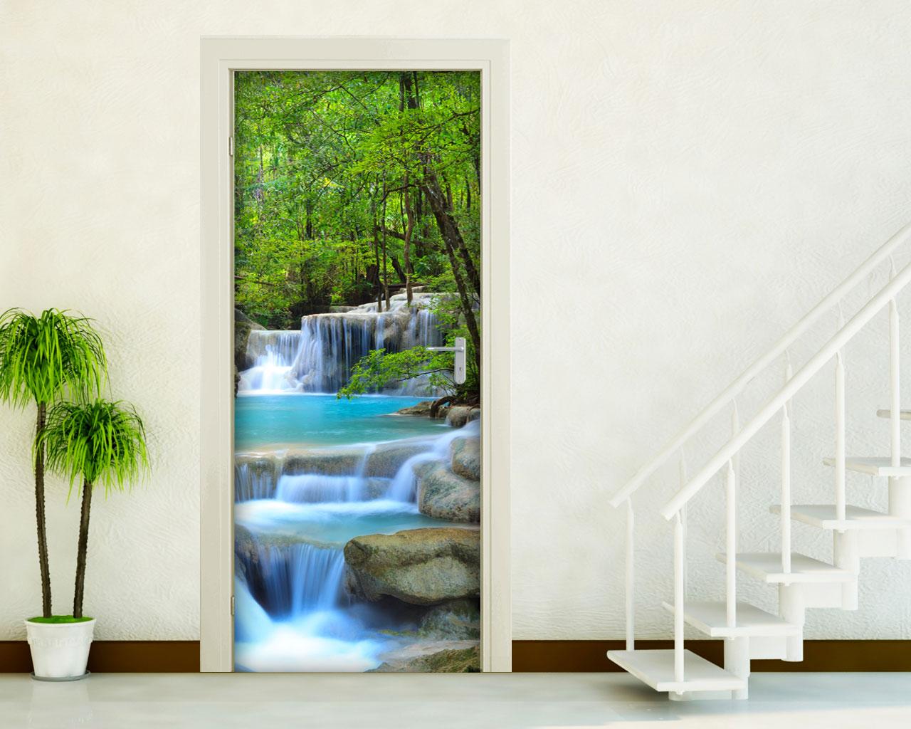 Decorazioni Adesive Porte Interne.Adesivi Per Porte Interni Decori Adesivi Murali Wall