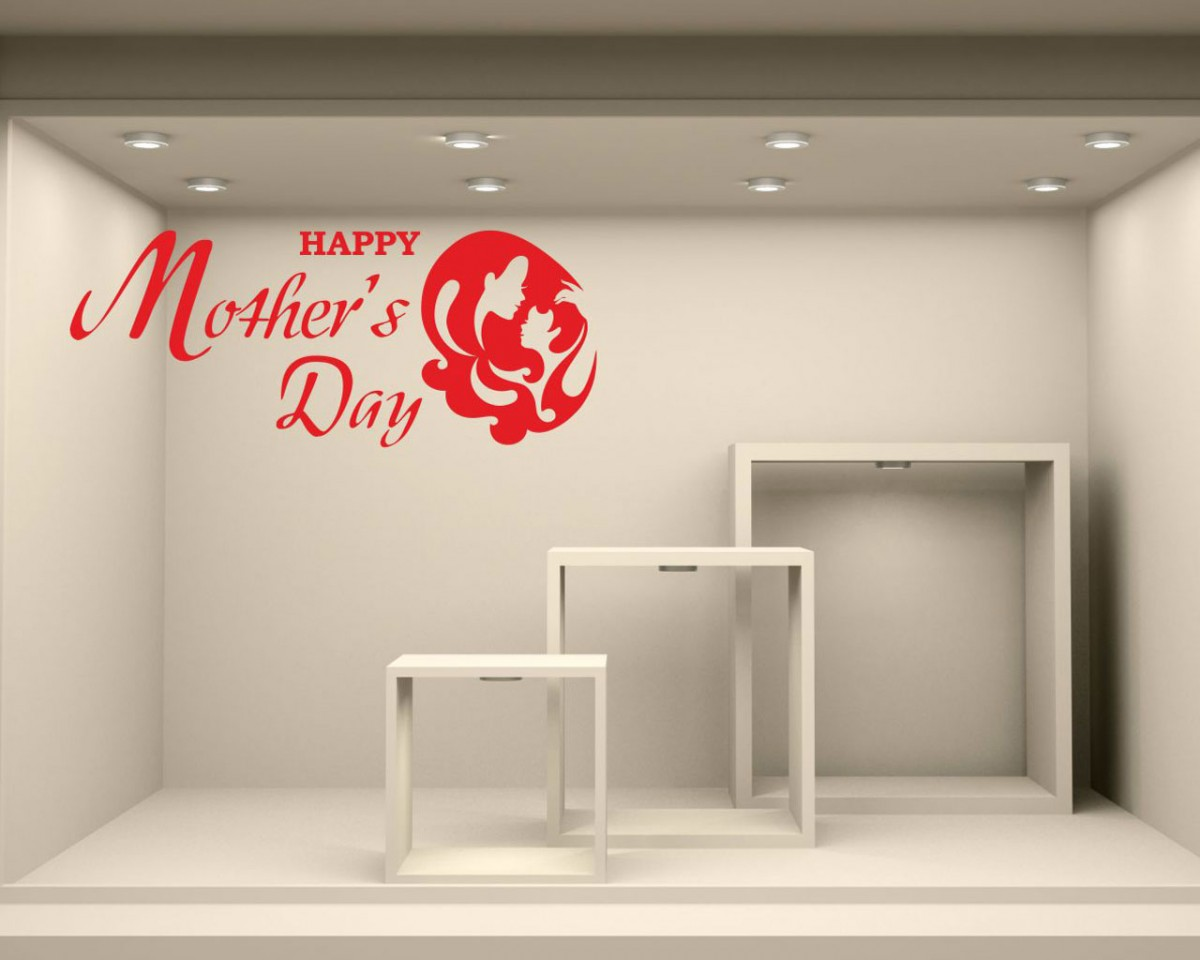Vetrofania-happy mother's day