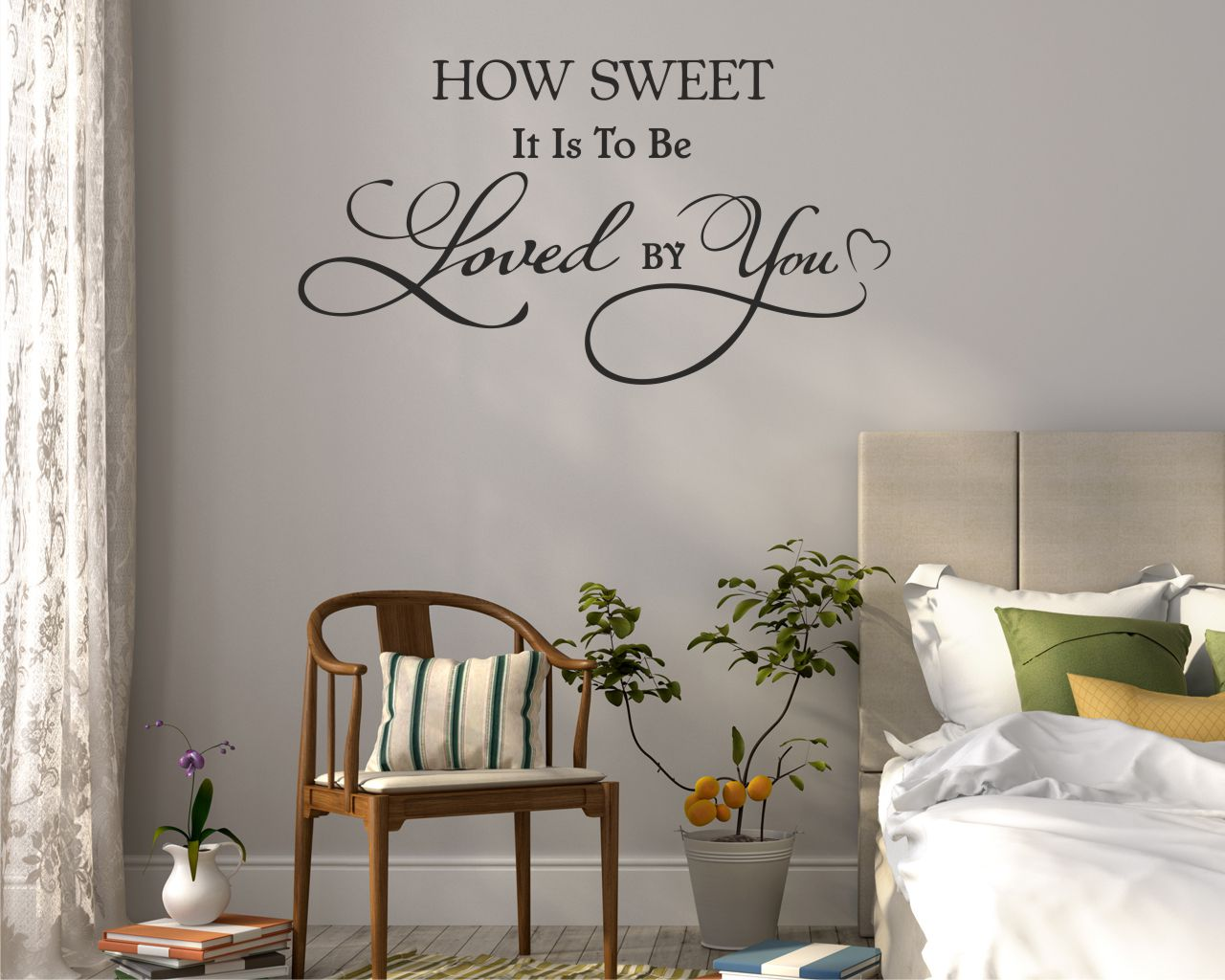 Adesivo murale-how sweet it is