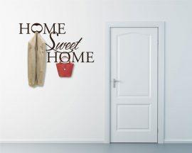 Appendiabiti adesivo-home sweet home