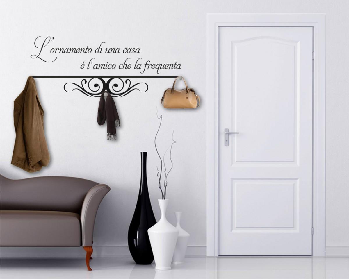Appendiabiti design-l'ornamento di una casa