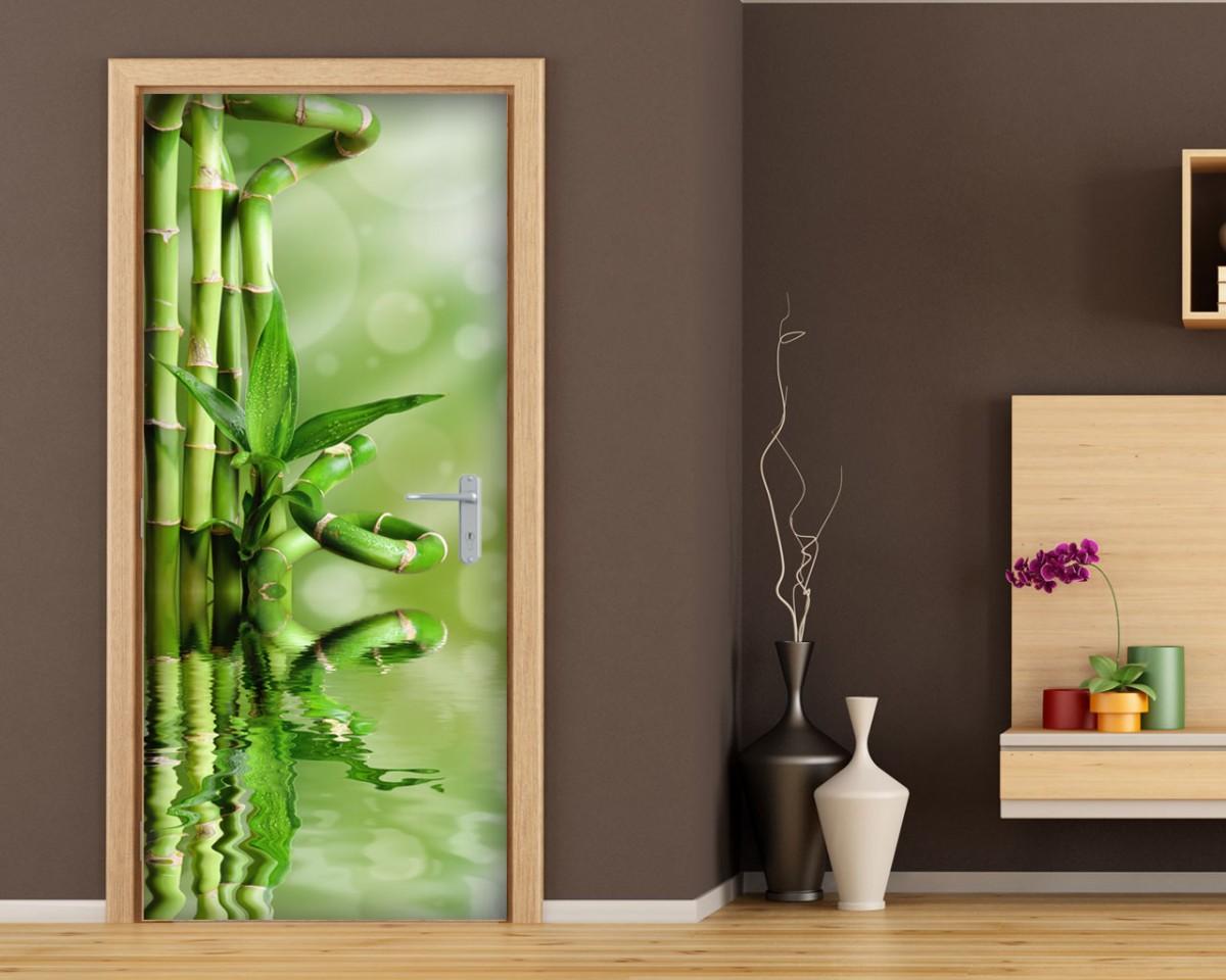 Adesivo per porte-rami di bamboo