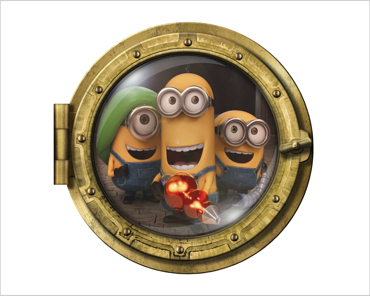 MINIONS MOVIE – Infanzia – Sticker oblò – Interni & Decori ...