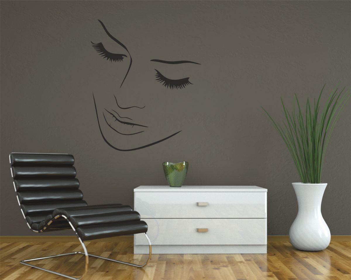 Adesivo murale-bellezza delicata