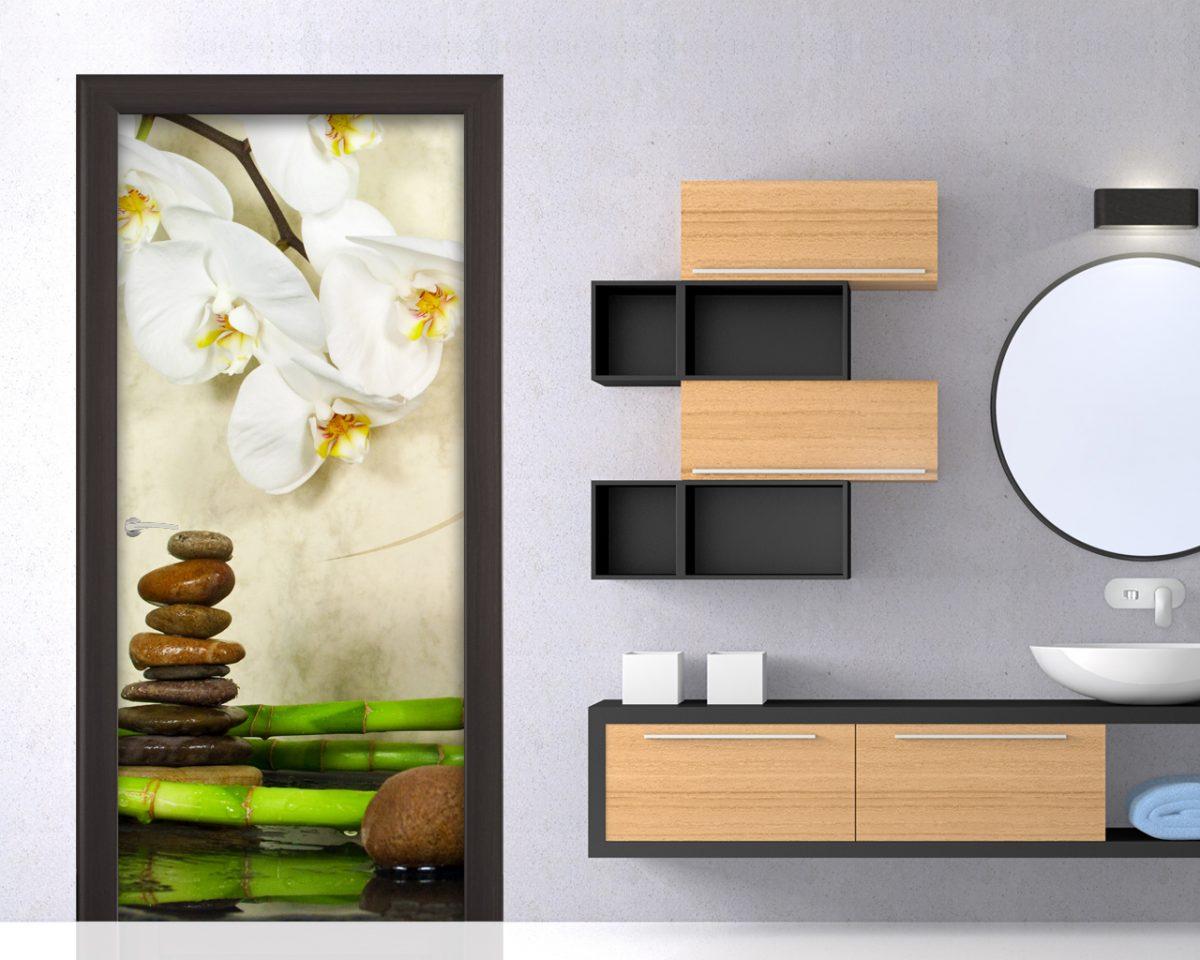 Adesivo per porte-orchidea e bamboo