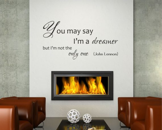 Adesivo murale-I'm a dreamer