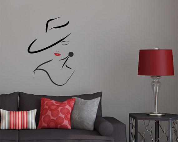 Adesivo murale-bellezza classica